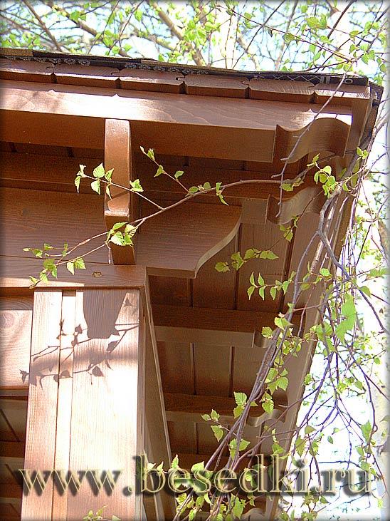 Из дерева садовые изделия