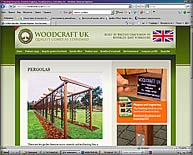 http://www.woodcraftuk.co.uk/Pergolas/