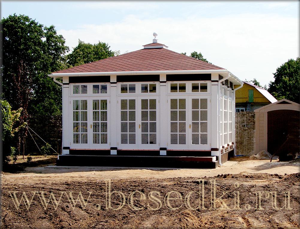 Рамы оконные деревянные для дачи 195